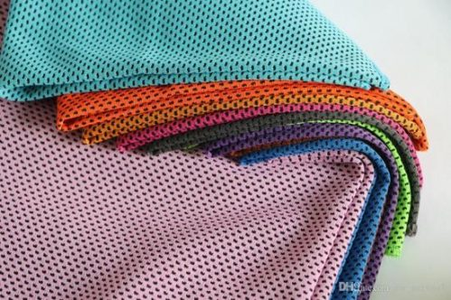 Cooling Towel, Ice Towel, absorberend, sneldrogend, zacht (Oranje) - Underdog Tech