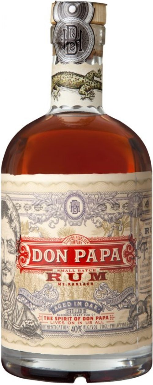 Don Papa 7 Years Rum - 1 x 70 cl