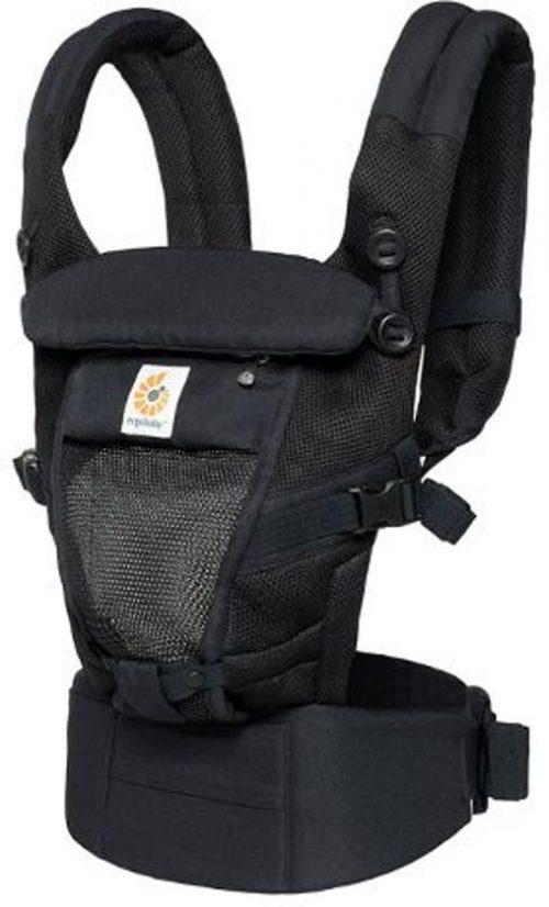Ergobaby Adapt Cool Air Mesh - Onyx Black One size Draagzak