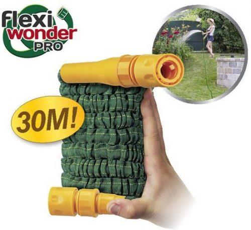 Flexiwonder PRO Pocket Hose - Elastische, compacte, flexibele tuinslang 30 meter