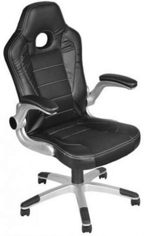Gaming Race Chair - Bureaustoel - Ergonomische Luxe Racing Style Design Game Computer Stoel - Zwart