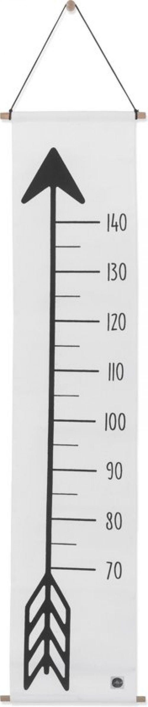 Groeimeter 70-140cm canvas Indians