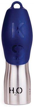 H2O4K9 Waterfles voor honden - Blauw - 0,75ltr
