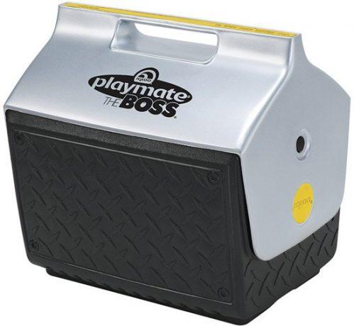 Igloo Playmate The Boss Koelbox voor de Bouw - Frigobox - 15 liter - Grijs