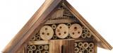 Insectenhotel kopen, zowel grote als kleine modellen