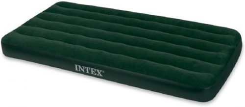 Intex Prestige Downy Twin Luchtbed met batterijpomp- 1-persoons - 191 x 99 x 22 cm