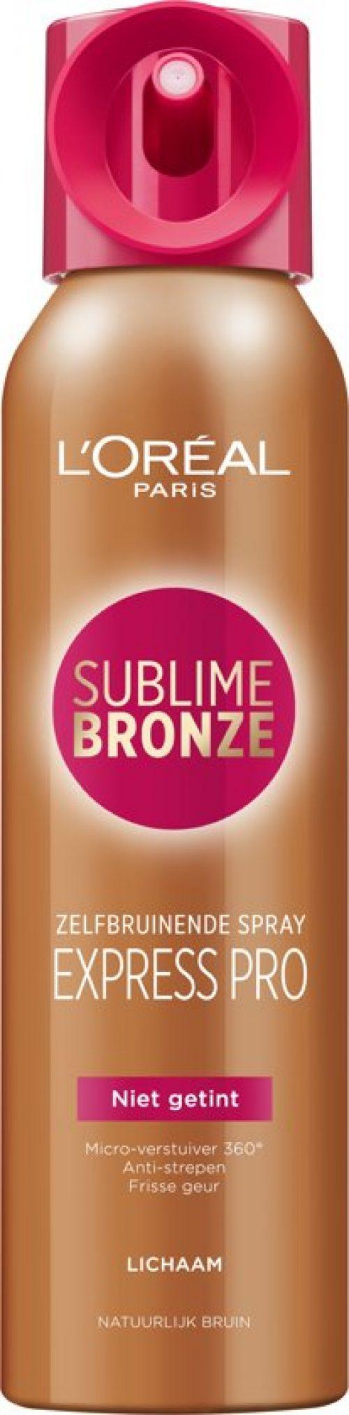 L'Oréal Paris Sublime Bronze Zelfbruinende Body Spray - Lichaam - 150ml - Zelfbruiner