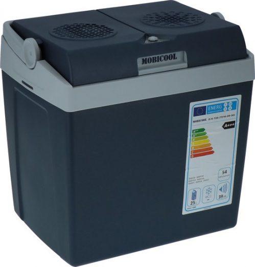 Mobicool T26 Thermo elektrische koelbox – 26 Liter - AC/DC - 12V/230V – Grijs/blauw