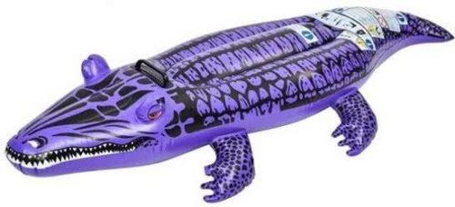 Opblaasbare Paarse Krokodil