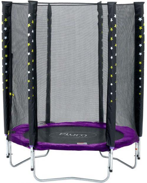 Plum Stardust Paars 140 cm inclusief Veiligheidsnet - Trampoline