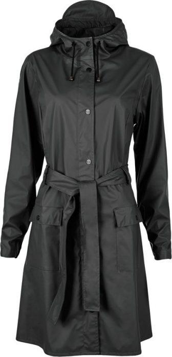 Rains Curve Jacket 1206 Regenjas - Dames - Black