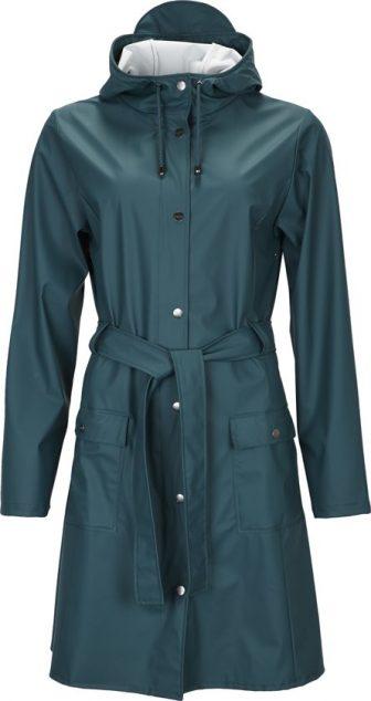 Rains Curve Jacket 1206 Regenjas - Dames - Dark Teal
