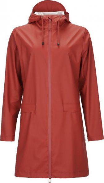 Rains W Coat 1246 Regenjas - Dames - Scarlet