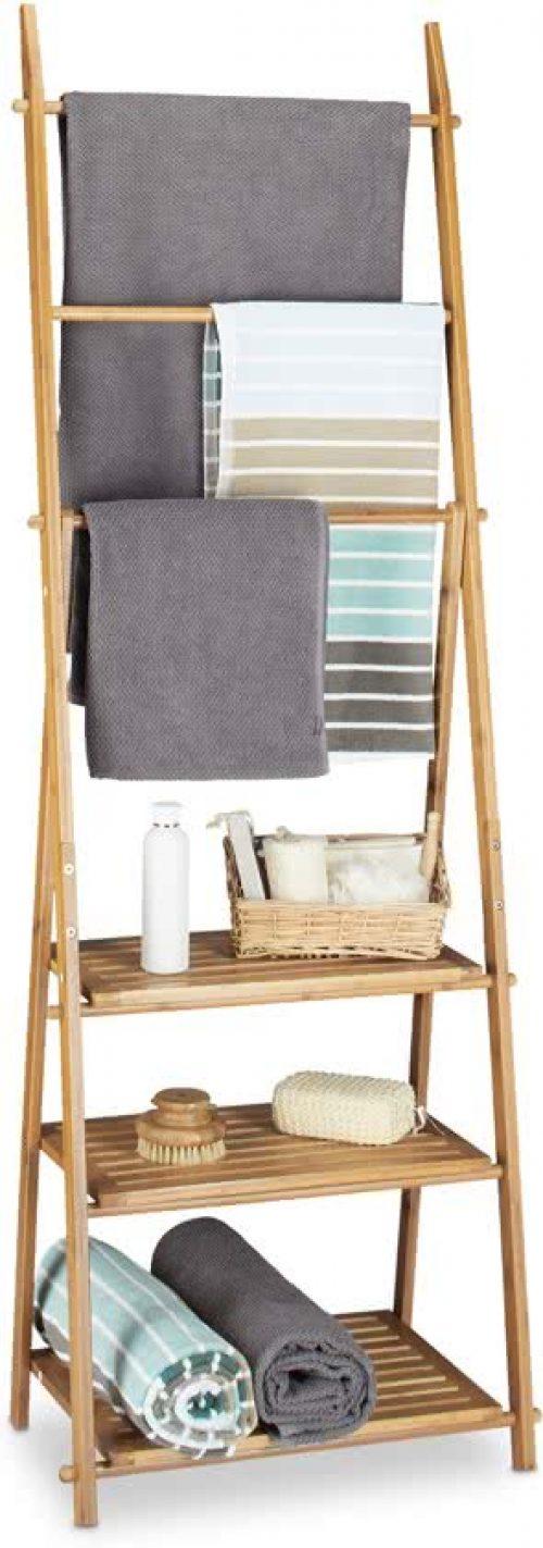 Favoriete Handdoekrek Badkamer, staand, uitschuifbaar en voor de radiator XQ95