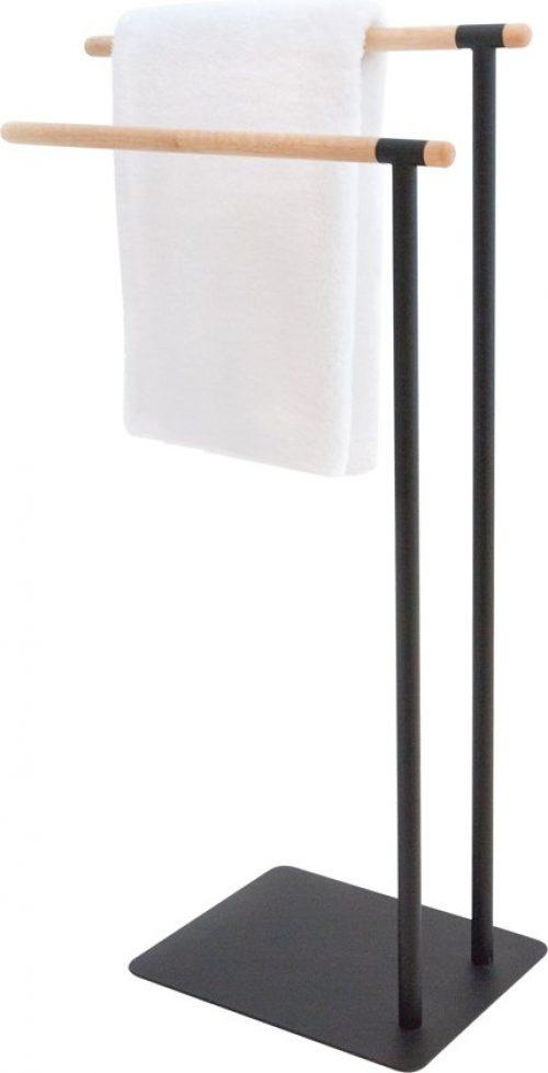 Handdoekrek Badkamer Staand Uitschuifbaar En Voor De Radiator
