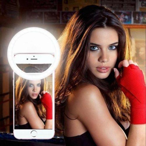 Selfie Ring Light | past op elke smartphone tablet en laptop | Licht | Lamp