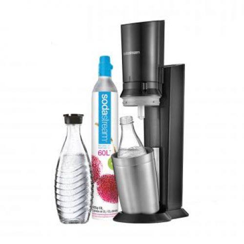 SodaStream Crystal bruiswatertoestel - zwart