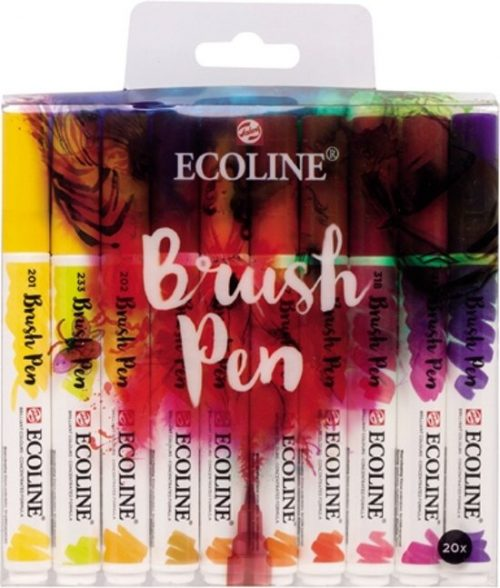 Talens Ecoline 20 brush pens