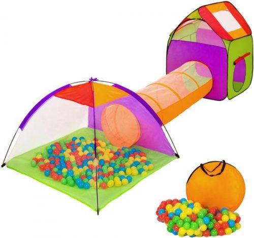 TecTake kindertent met ballenbak inclusief 200 ballen - Speeltent