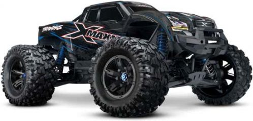 Traxxas X-Maxx 8S Monster Truck Brushless Blauw