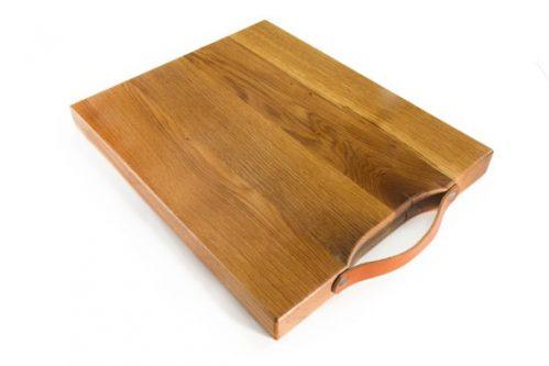 Twentshout hakblok groot - eikenhout - 49 x 40 cm