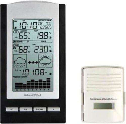 Velleman WS1170 Zwart, Zilver digitale weerstation