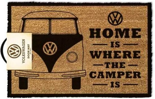 Volkswagen Home Is Where The Camper Is - Deurmat