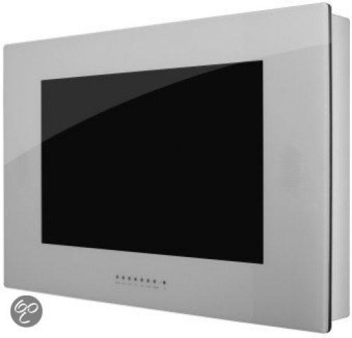 Waterdichte 17 inch SplashVision TV zilvergrijs, BigSplash AB17S (inbouw & opbouw)