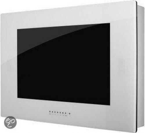 Waterdichte 32 inch SplashVision TV wit, BigSplash AB32W (inbouw & opbouw)