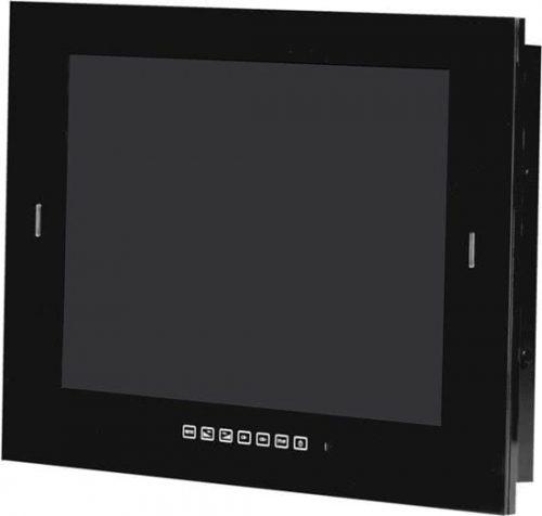 Waterdichte LED TV 32 inch zwart met DVB-S2 & DVB-C tuner