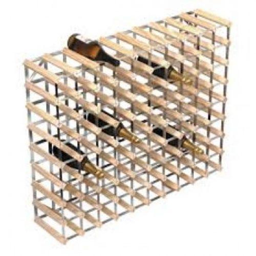 Wonderbaar Wijnrek in metaal en hout | Flakko EE-68